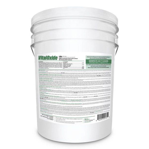 Vital Oxide Disinfectant Cleaner - 5 Gallon Pail